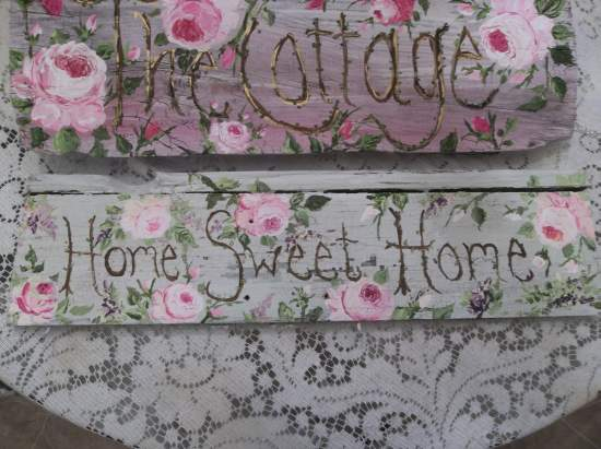 (Home Sweet Home Painting) Handpainted Sign