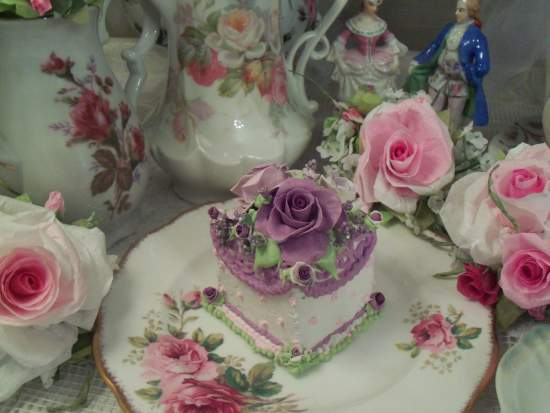(Lady of Lavender) Fake Cake Slice
