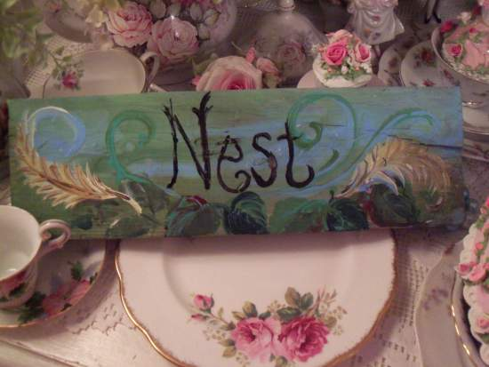 (Nest) Handpainted Sign