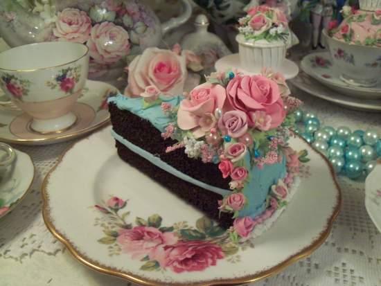 (Big Mama) Fake Food Slice of Cake