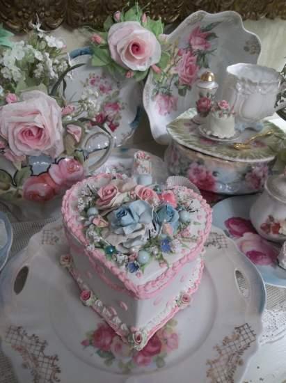 (Rhonda's Wedding Cake)  Fake Cake