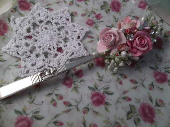 (The Feast Of Spring Time) Vintage Teaspoon Decoration
