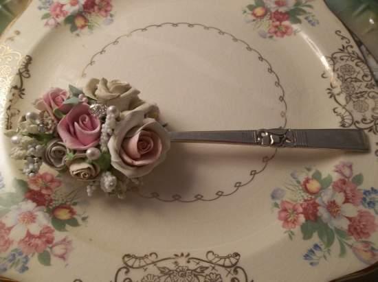 (Donna) Vintage Teaspoon Decoration