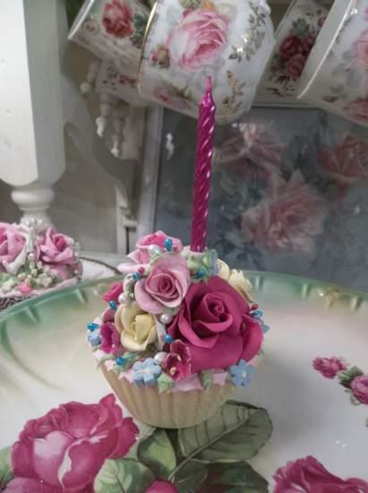 (Happy Birthday) Fake Cupcake