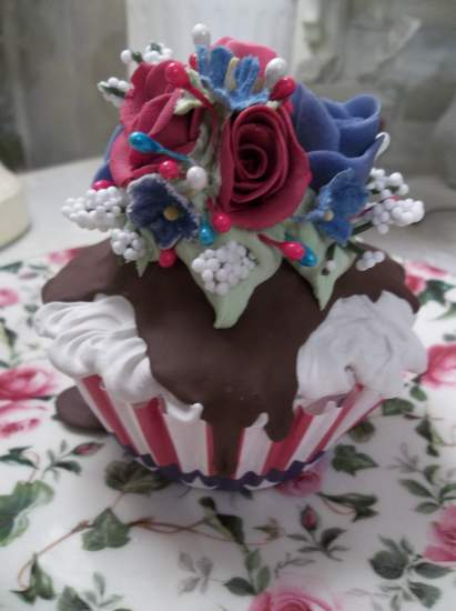 (America) Fake Cupcake