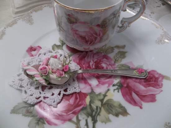 (Miss CandyLand  Herself) Vintage Teaspoon Decoration