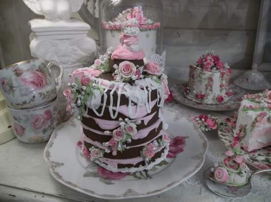 (Milk Chocolate Madness) Fake Cake