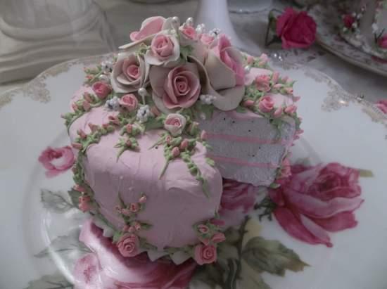 (Pale Pink Princess)  Fake Cake
