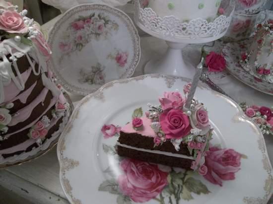 (Sparkling Birthday Bliss) Fake Cake Slice