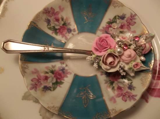 (Princess Heather) Vintage Teaspoon Decoration