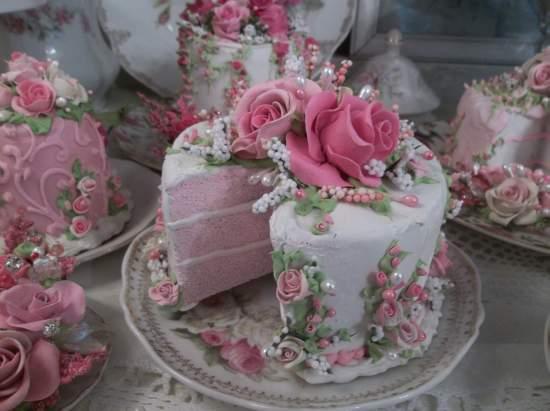 (Joyous Party Cake) Fake Cake