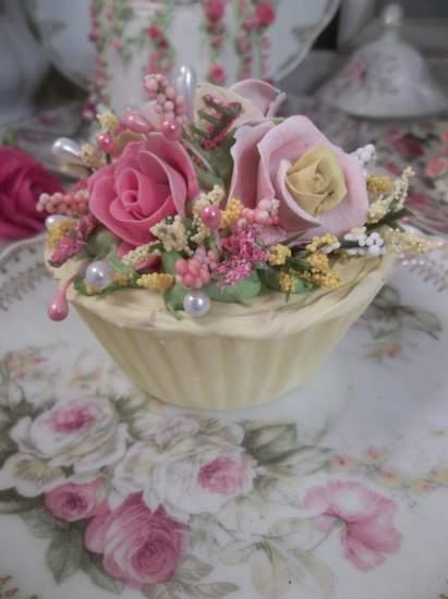 (Lemon Lala Cupcake) Fake Cupcake
