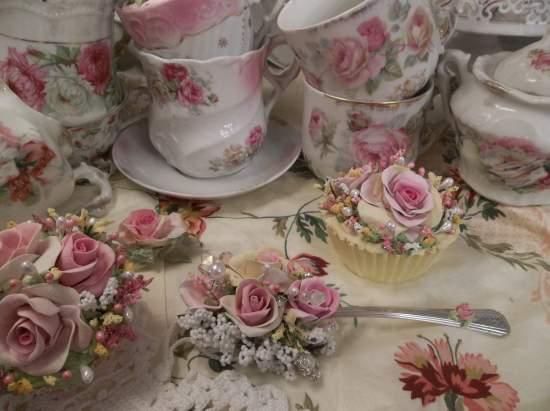 (Lola Lily) Vintage Teaspoon Decoration
