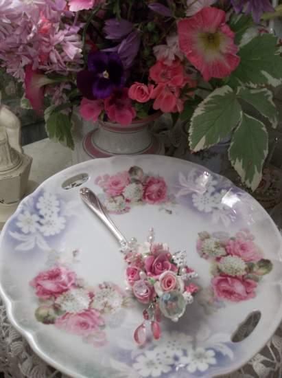 (Tea Time) Vintage Teaspoon Decoration