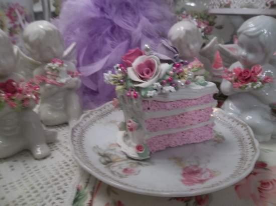 (Spring) Fake Cake Slice