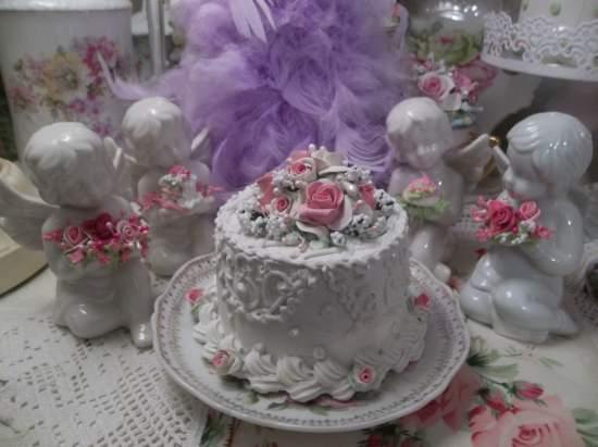 (Elizabeth Grace) Funky Junk Fake Cake