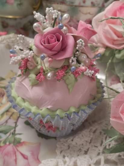 (Rosa Mae) Fake Cupcake