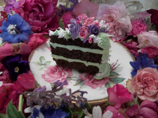 (Garden Party) Fake Cake Slice