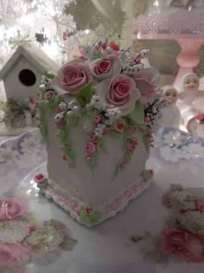 (Wanda's Wedding Cake) Fake Cake Slice