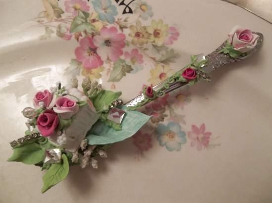 (Slice Of Fairy Cake) Teaspoon Decoration