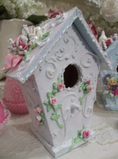(Marissa) Decorated Birdhouse