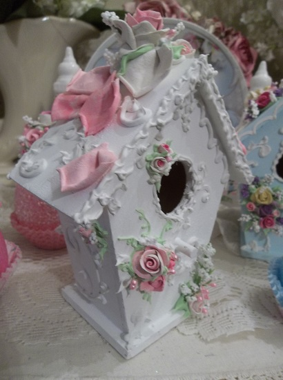 (Petals) Decorated Birdhouse