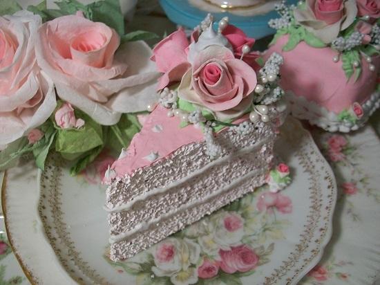 (Rosanna) Fake Cake Slice