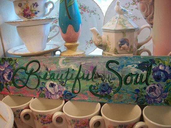 (Beautiful Soul) Handpainted Sign