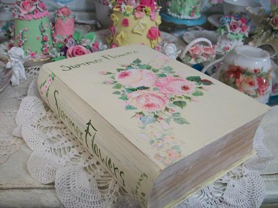 (Summer Flowers) Handpainted Storage Box