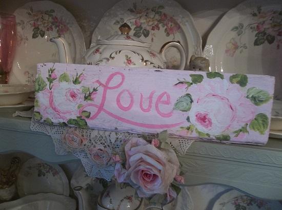 (Chelsea's Love) Handpainted Sign