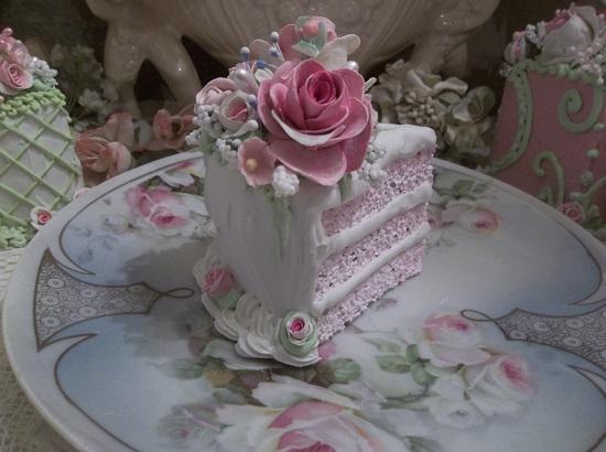 (Polly) Fake Cake Slice