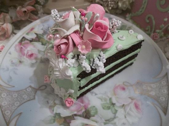 (Paulette's Party) Fake Cake Slice