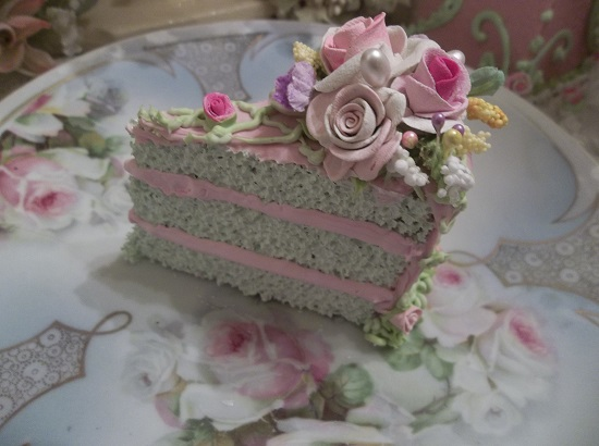 (Garden Girl) Fake Cake Slice