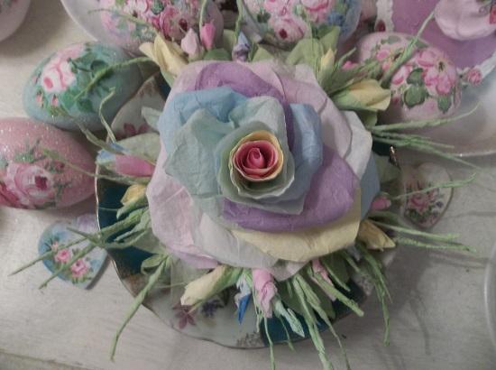 (Promise) Handmade Paper Rose Clip