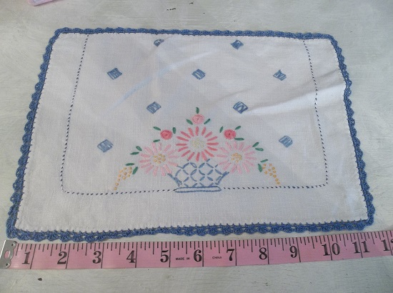 (Daisey May) Vintage Handmade Linen