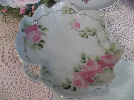 (Peony) Vintage Trinket Dish