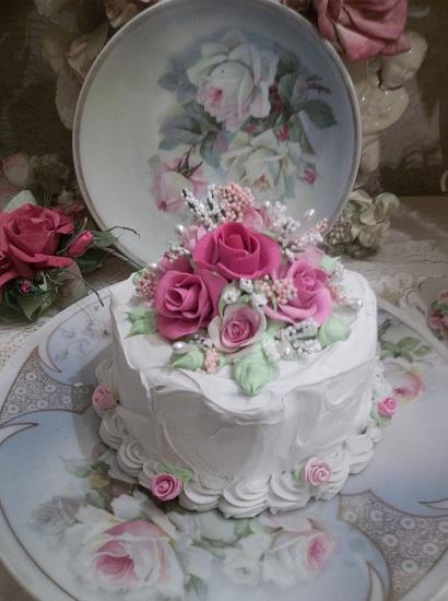 (Loisina) Funky Junk Fake Cake