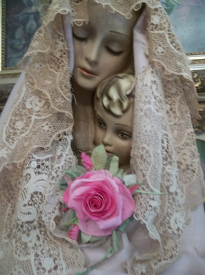 (Grace) Handmade Paper Rose Clip