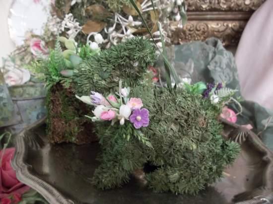 (Little Hopper) Easter Ornament Woodland Decor