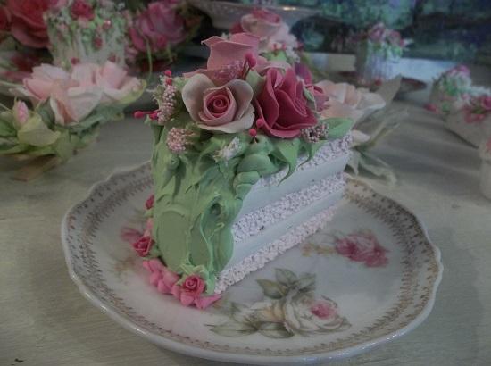 (Dorie) Fake Cake Slice