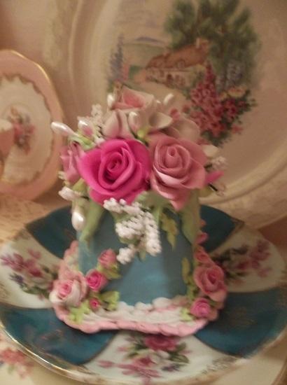 (Claudia) Funky Junk Fake Cake
