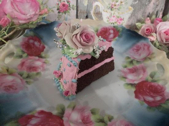 (Cotton Candi) Fake Cake Slice