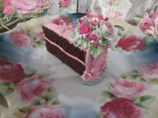 (Seaside Treat Shack Snack) Fake Cake Slice