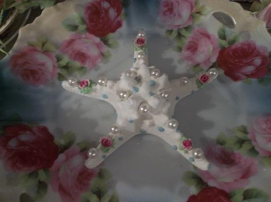 (Starlit Beach) Decorated Starfish