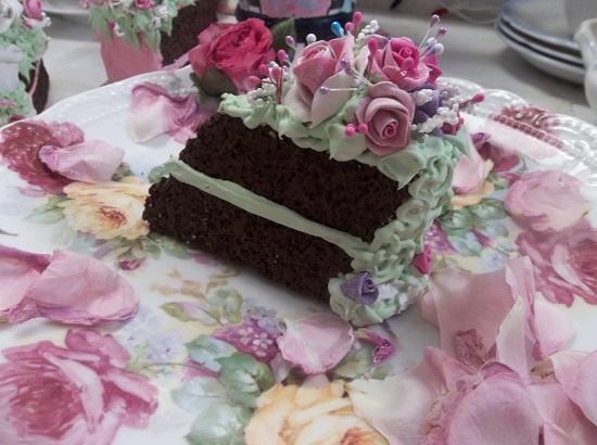 (Gypsy) Fake Cake Slice