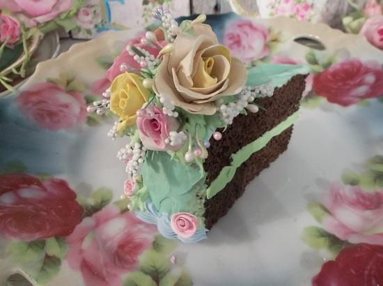 (Lemon Cha Cha Cha) Fake Cake Slice