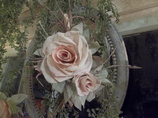 (Rhonda Rapunzel) Handmade Paper Rose Clip