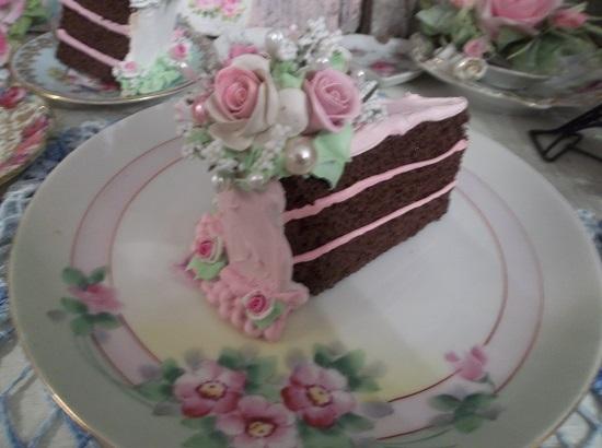 (Austina Jayne) Fake Cake Slice