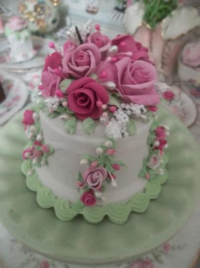 (The Sweetest Dear One) Funky Junk Fake Cake