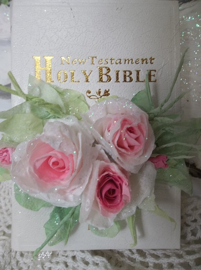 (Shawna) Small Decorated New Testament Bible